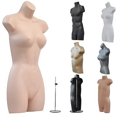 ❤A1 Female Male Child Kids Hanging Body Form Mannequin Torso Bust Retail Display • 20.49£