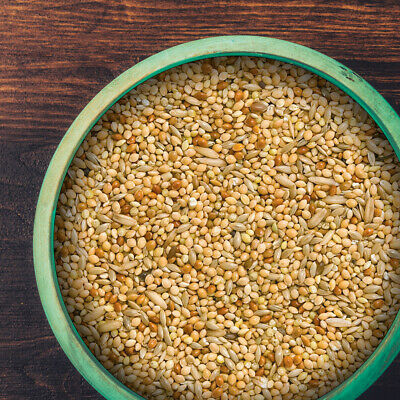 Budgie Food, Ideal Mix Of Red And White Millet With Canary Seed, Budgie Seed • 8.45£