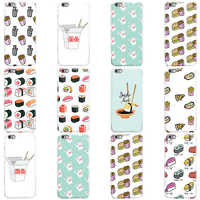 £4.95 • Buy Dyefor Fast Food Collection Hard Case Cover For Apple Iphone Mobile Phones