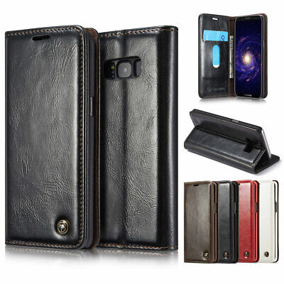 $ CDN14.60 • Buy Luxury Leather Wallet Card Holder Flip Stand Case Cover For Samsung Galaxy Phone