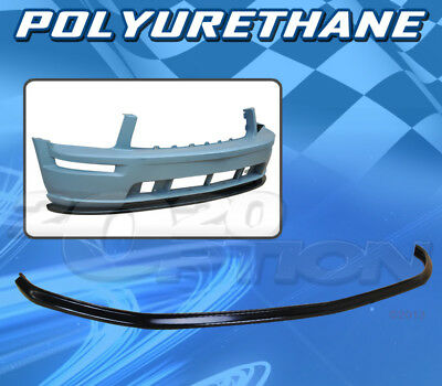 $97.95 • Buy For Ford Mustang V6 05-09 T-v Style Front Bumper Lip Body Kit Polyurethane Pu