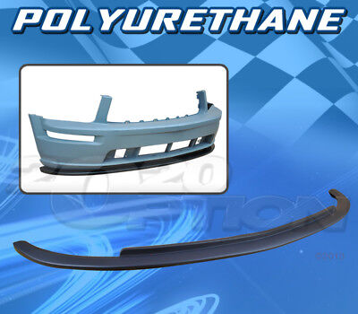$97.95 • Buy For Ford Mustang V8 05-09 T-v Style Front Bumper Lip Body Kit Polyurethane Pu