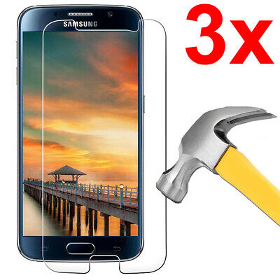 $ CDN3.49 • Buy 3x Case Friendly Tempered Glass Screen Protector For Samsung Galaxy S6
