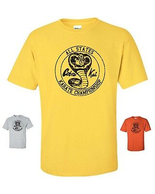 $9.95 • Buy COBRA KAI Karate Kid Mr Miyagi All Valley Championship Men's Tee Shirt