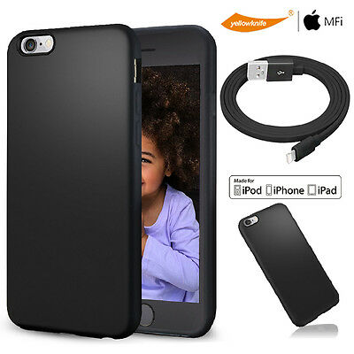 AU20.98 • Buy MFI Certified USB Data ChargeR Cable F Iphone 6 6s Plus Matte Non Slip Soft Case