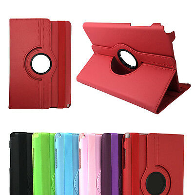 AU9.95 • Buy Rotation Leather Flip Stand Case Cover For Samsung Galaxy Tab A 8.0 9.7 Tablet