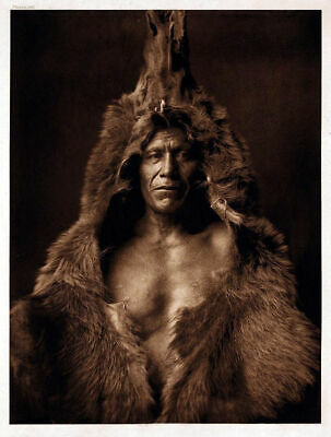 £3.99 • Buy Native American Indian Portrait Bears Billy Photo Art Print Picture