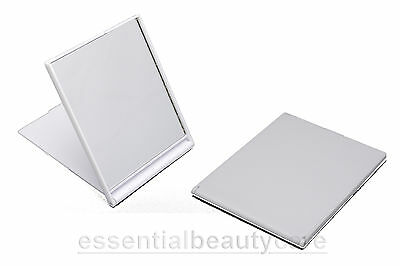 £3.99 • Buy Small Folding Compact Travel Shaving Make-up Mirror In Black, White Or Pink