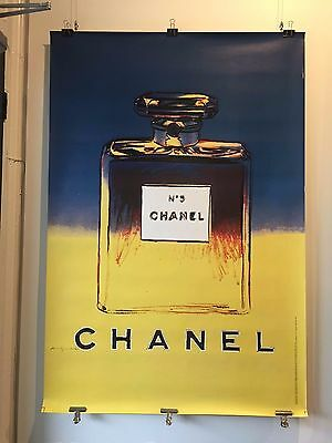$1200 • Buy Original Vintage Poster -  Andy Warhol For CHANEL - Fashion Poster 1997