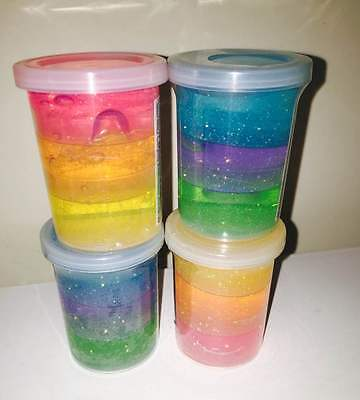 AU12 • Buy Glitter Putty / Clear Slime - Great With Magiclip Dolls - SELLER IN AUSTRALIA