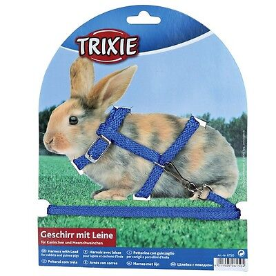 £4.30 • Buy Rabbit Harness And Lead, Various Colours(6150)