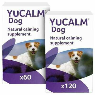 £43.99 • Buy Lintbells YuCALM Dog Calming Supplement Tablets Stress & Anxiety Relief