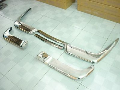 Stainless Steel Bumper For Volvo P1800 COW HORN • 934.39£