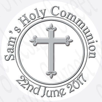 Personalised Holy Communion Baptism Christening Labels Stickers Confirmation • 1.28£