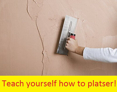 £4.99 • Buy How To Plaster Training Learn Course Plastering Information CD With Images