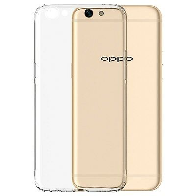 AU6.99 • Buy For Oppo F1S AX5 AX7 A57 A73 A77 R11S Plus Soft Gel Clear Transparent Case Cover