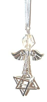 Very Large SP MERKABAH MERKABA Angel CHARIOT Pendulum Light Body Ascension • 6.99£