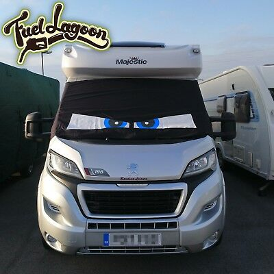 Motorhome Screen Cover Curtain Wrap Fiat Ducato Boxer Relay Besscarr • 95£