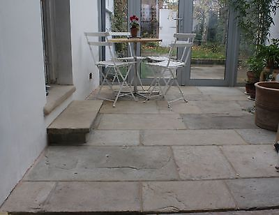 £52 • Buy RECLAIMED YORK STONE FLAGS. Quality Paving At A Reasonable Price