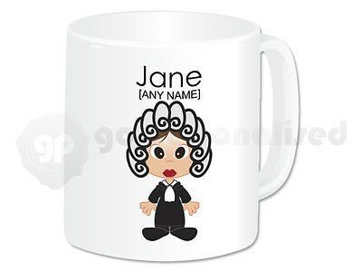 £11.99 • Buy Personalised Gift Judge Mug Cup Barrister Lawyer Law Student Graduation Girl #1