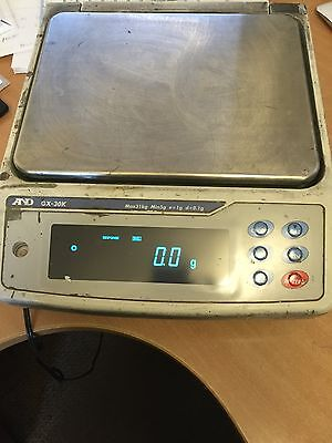 A And D Instrument Laboratory Scales , Gx - 30k - Ec (3403) • 695£
