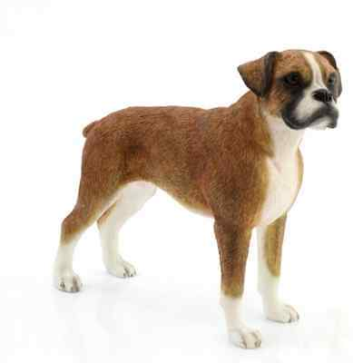 Boxer Standing Dog Ornaments Gift Figure Figurine By Leonardo Collection • 10.95£