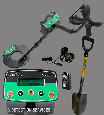VIKING VK40 Metal Detector Motion And Non-motion Of War And Coins • 265£