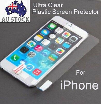 AU3.50 • Buy 3x Clear Matte Plastic TPU Screen Protector IPhone 6 6s 6 Plus 7 7 Plus 8 Plus X