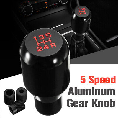 AU16.99 • Buy Universal MT Manual 5 Speed Car Gear Stick Shift Knob Shifter JDM Aluminum AU