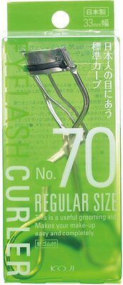 NEW No. 70 Eyelash Curler (regular Size) 33 Mm With One Refill Pad Made In Japan • 12.52$