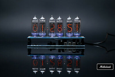 £150.62 • Buy IN-14 NIXIE TUBE CLOCK ASSEMBLED WITH ADAPTER 6-tubes W/out Enclosure Retro