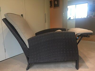 AU450 • Buy Wicker Recliner Chair - Stylish And Comfortable