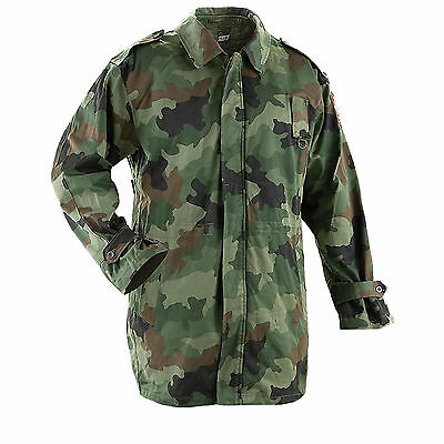 £21.99 • Buy Genuine Serbian Army Issue Lined Camouflage Winter Parka Used