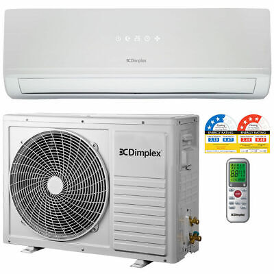 AU799 • Buy Dimplex DCSS09 2.5kW Inverter Reverse Cycle Split System/Air Conditioner/Heating