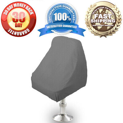 $ CDN29.05 • Buy Waterproof Pontoon Boat Seat Chair / Center Console / Bench Seat Cover Grey