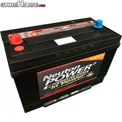 AU180 • Buy New 4WD Car Battery- Neuton Power N70ZZ / 95D31R - 750CCA- 2 Year Warranty