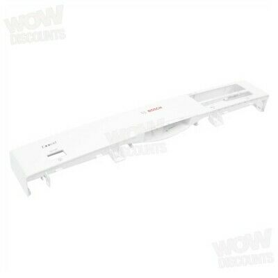 Bosch Dishwasher White Control Panel Frame. Genuine Part Number 00661649 • 46.70£