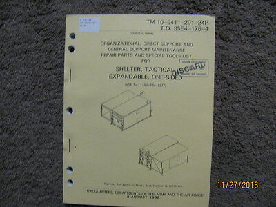 $14.99 • Buy Military Book For Shelter, Tactical, Expandable, One-Sided, -24P, Used