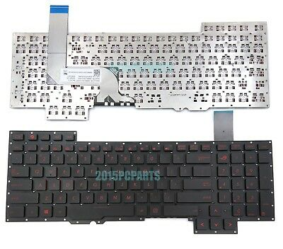 AU28.80 • Buy New US Keyboard For ASUS ROG G751JM-BHI7T25 G751Jl-bs17t28 G751JT-CH71