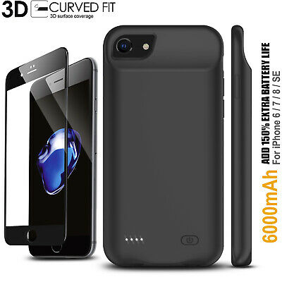 AU72.99 • Buy For Apple IPhone 6s 7 8 Plus Charger Case 4000mAH Power Bank Battery Backup MFI