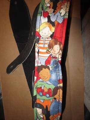 Children Of The World Guitar Strap Glove Leather & Poly-nylon • 21.70£