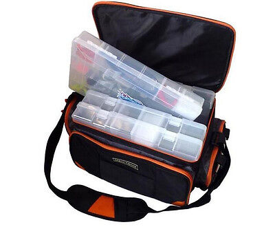 AU49.99 • Buy Fishing Tackle Bag Pack Waist Shoulder Waterproof Gear Storage Handbag AU