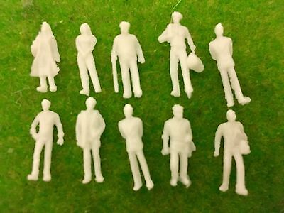 1:100 Scale Architecture Model White Figures / People - Pack Of 50 Or 100 • 3.60£