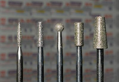 $ CDN36.91 • Buy Set  The Best Diamond Nail Drill Bit MULTIBOR 2.35mm (3/32 ), 5 Pcs In Set