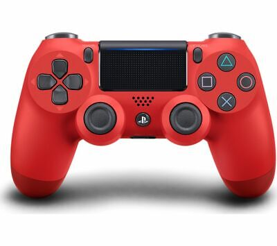 SONY DualShock 4 V2 Wireless Controller - Magma Red - Currys • 39.99£