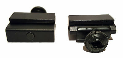 £4.75 • Buy UK 2x 20mm To 11mm Converter Rail Mount Adapter For Scope Hunting Rifle Airsoft