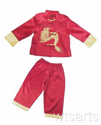 £19.99 • Buy Gold Dragon Chinese New Year Boys Costume, (Asian Kung Fu)