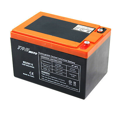 AU58.20 • Buy AGM 12V 15AH DEEP CYCLE Battery Electric Mobility Scooter Wheelchair UPS 12 VOLT