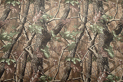 £8.99 • Buy Camouflage Woodland Fabric In Strong Waterproof PVC Material. 148cm X 100cm