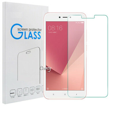 AU4.90 • Buy Tempered Glass Screen Protector For Xiaomi Redmi Note 4 4X 5A / A1 / 5X   5 Plus
